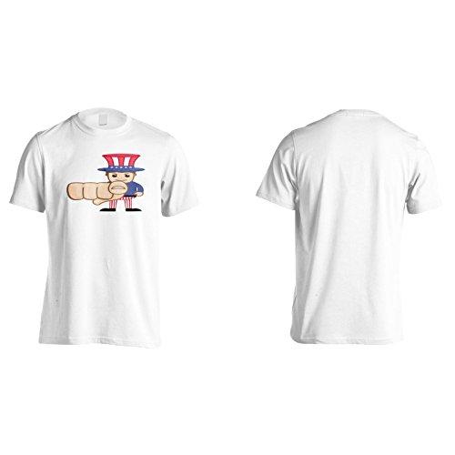 Neu Wir Wollen Dich Onkel Sam Herren T-Shirt l447m