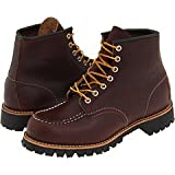 Red Wing Heritage Men's 6'' Moc Toe Lug Briar Oil Slick 9.5 W US