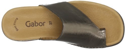 Gabor Silber Women's Lanzarote Open Toe A Flats TxTrqHRBw