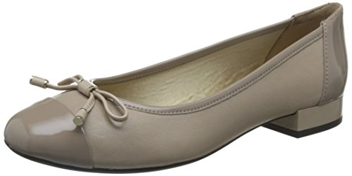 Geox D Wistrey F, Bailarinas para Mujer Rosa (Lt Taupe)