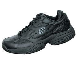 Skechers Mens Keystone (Skechers for Work Men's Keystone Sneaker,Black,8 M US)