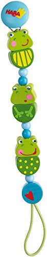 Haba 301115 Frog Concert Pacifier Chain