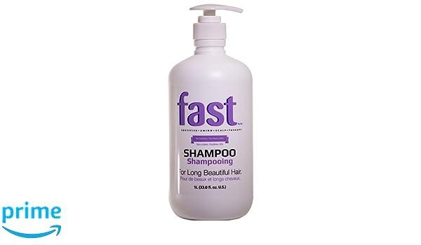 Champú FAST para el crecimiento rápido del cabello (1 L). Libre de sulfatos y parabenos.: Amazon.es: Belleza