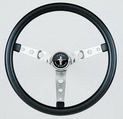 968 Steering - Grant Steering Wheels 968 15in Black Mustang Wheel
