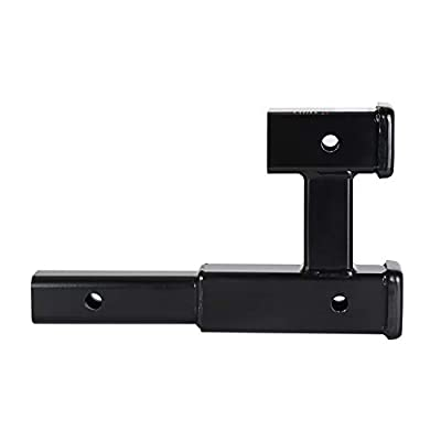 HiTow Dual Receiver Extender Trailer Towing Hitch Extension(GTW 5,000 lbs): Automotive