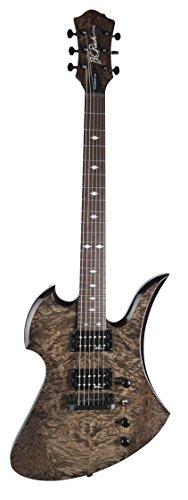 B.C. Rich MKPBKV Mockingbird Plus Solid-Body Electric Guitar, Black Vapor