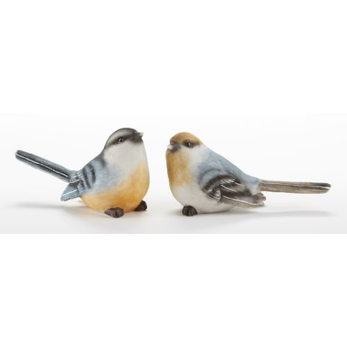 Delton 4.9X2.8 Inches Resin Junco Bird,Set Of 2