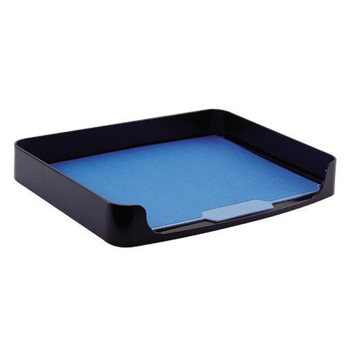 Officemate 2200 Series Executive Side Load Tray, Legal Size, Black, 1 Tray (22212) ()