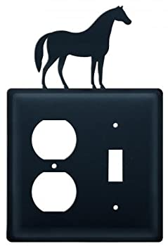 Horse Outlet & Switch Cover 4.625in.w X 8in.h X 0in.d 1