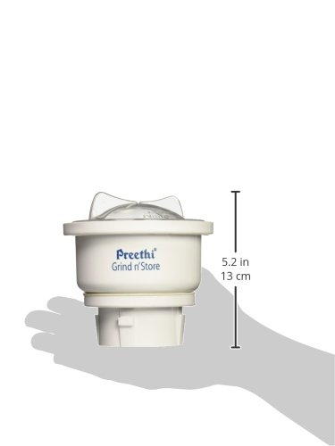Preethi MGA-502 0.4-Litre Grind and Store Jar (White) 7