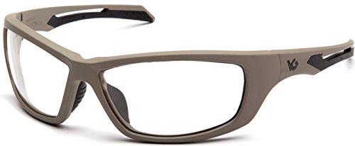 Venture Gear VGST1310T Howitzer Glasses, Clear Lens