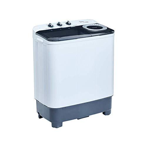 Midea MLTT11M2NUBW Lavadora Semiautomática, color Blanco, 2 Tinas, 11 kg Lavado/7.8 kg Centrifugad