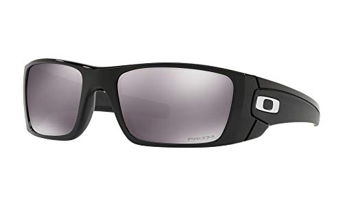 - Oakley Men's Fuel Cell Non-Polarized Iridium Rectangular Sunglasses, Polished Black, 60.0 mm