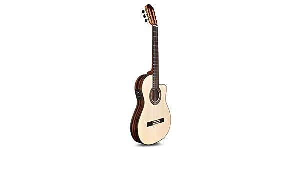 Cordoba 55FCE Flamenco Macassar Guitarra de flamenco con cuerda de ...