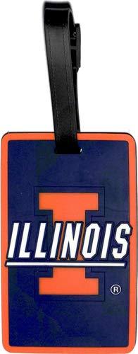 (aminco NCAA Illinois Illini Soft Bag Tag)
