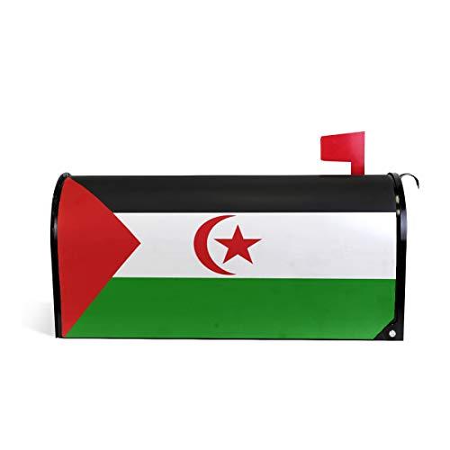 - Printedin3D Western Sahara Flag Magnetic Mailbox Cover for US Large Size