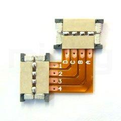 3 x Eckverbinder für RGB LED-Strips - ideal für TV-Montage ...