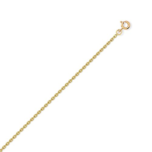 DIAMANTLY Collier or 750 forcat diamante 1.5 mm - 45 cm