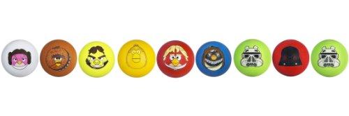 Star Wars Angry Birds Koosh Set of 9 Star Wars Character Bal