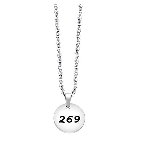 BNQL 269 Vegan Pendant Animal Rights Support Necklace (Silver)