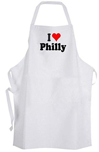 (I Love Philly - Adult Size Apron - Philadelphia Pennsylvania)