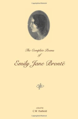 The Complete Poems of Emily Jane Bronte by Emily Bronte (1995-04-15) Paperback