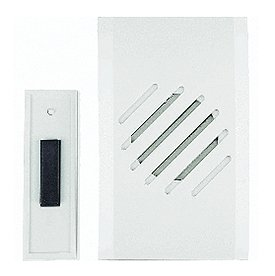 Carlon Lamson & Sessons RC3730D White Wireless Door Chime primary