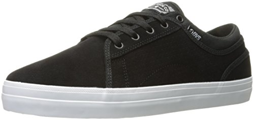 DVS Shoes Aversa, Scarpe da Skateboard Unisex – Adulto Schwarz (Black Suede)
