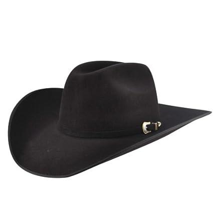 cd85037b6f4 Bailey Western Premier 6X Hat Black 7 1 8 at Amazon Men s Clothing store  Cowboy  Hats