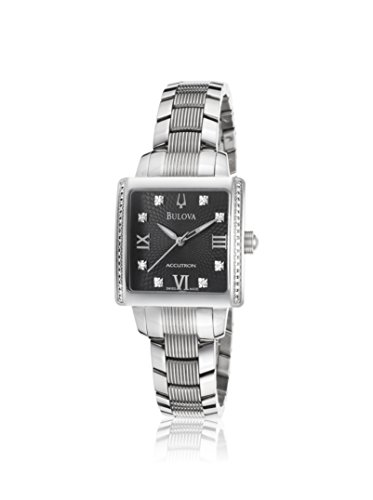 Accutron Women Stainless Steel Diamond Watch - 6