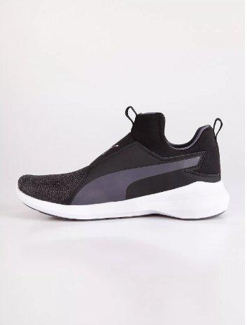 Puma Zapatillas de Running de Material Sintético Para Mujer Negro Negro