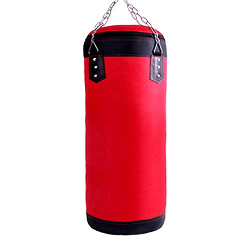 Luniquz Kids Punching Bag, Oxford Punch Bag for Kids Boxing Training, UNFILLED Boxing Bag with Chain for Boys & Girls