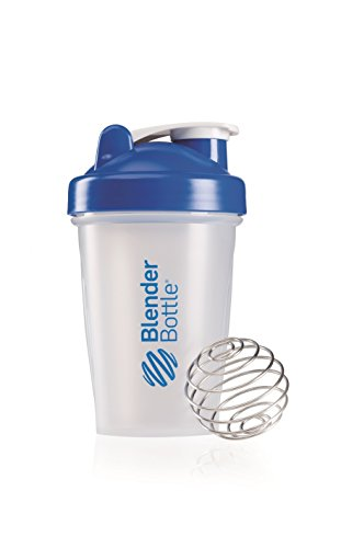BlenderBottle Classic (Discontinued Style), 20-Ounce, Clear/Blue