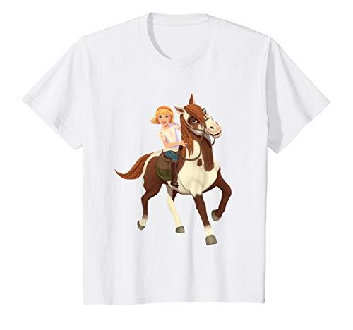 Kids DreamWorks' Spirit Riding Free-Abigail and Boomerang T-Shirt