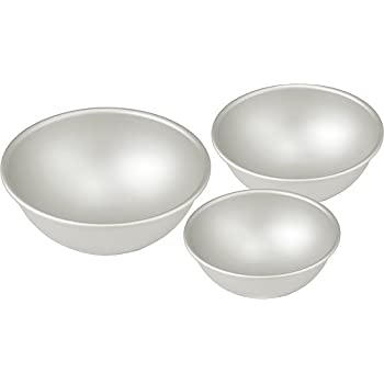 Amazon Com Hemisphere Ball Cake Pans Set Of 3 Different