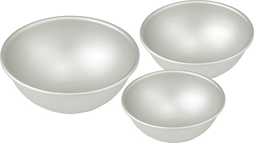 (Hemisphere Ball Cake Pans - Set of 3 Different)