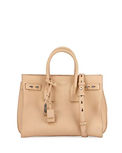Saint Laurent Sac de Jour Small Supple Leather Bag made in Italy (Beige) 454b26b404996