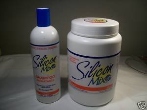 Silicon Mix Hidratante Shampoo 16 Oz and Hair Deep Treatment 60 Oz Combo (Silicon Mix Shampoo Hidratante compare prices)
