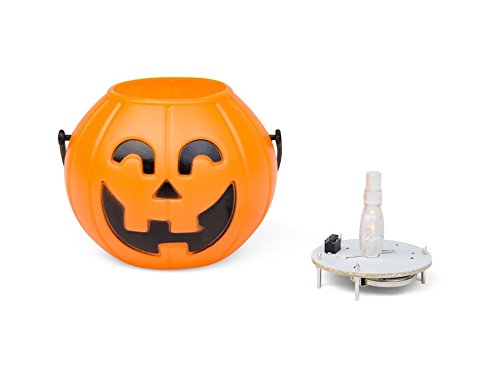 Zucca halloween a led in kit festeggia halloween con questa