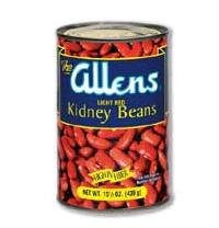 Beans, Organic, Kidney, Dark Red, lb (pack of 25 ) by Bulk Peas And Beans Organic
