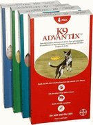 Advantix K9 Flea Killer Plus, Red,21-55 lbs. 4 Month - Plus K9 Advantix