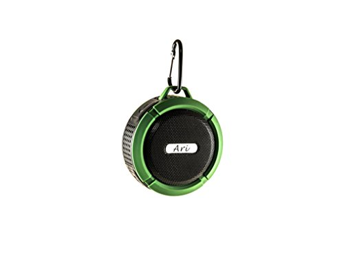 Water Resistant Silicone Bluetooth Speaker Set of 2 (Green) - 2