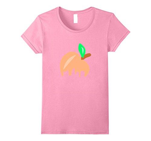 Womens Atlanta Skyline T Shirt- Atlanta Peach Georgia Tshirt Medium Pink Georgia Womens Pink T-shirt