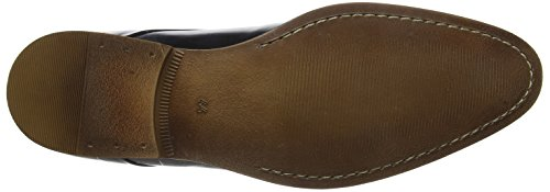 Bertie Professor, Scarpe Stringate Derby Uomo Nero(black Leather)