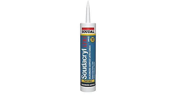 Fresh Amazon Soudal Soudacryl Ltx1 Siliconized Acrylic Latex Caulk 10 1 Oz Home Improvement Top Search - Model Of siliconized acrylic caulk For Your House