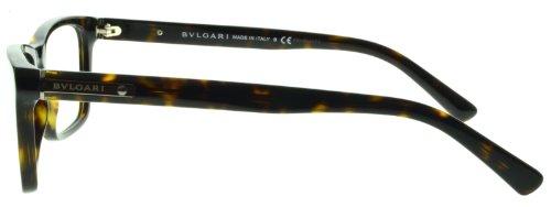 ca68976a91a Bulgari Montures de lunettes 3022 Pour Homme Black 52mm 504 Dark ...