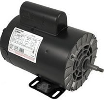 Emerson Bolt - Nidec Motor AGH75FL1 0.75 HP44; 230 Volt Emerson Thru Bolt Mount Motor