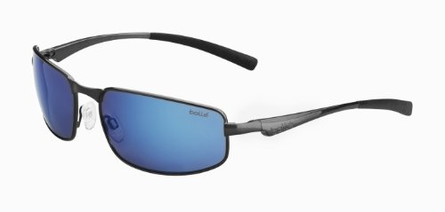 Bolle Everglades Sunglass with Polarized GB-10 Oleo AF Lens, Metallic - Triathlon Gb