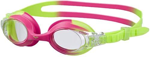 Arena X-Lite - Gafas infantiles de natación, Talla única, Color Verde/Rosa
