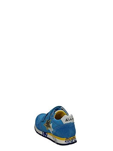 Naturino - Zapatillas de Piel para niño Azul azul Azul - azul